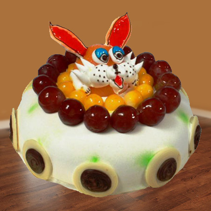 The Delicious Rabbit Cake Eggless - 1kg
