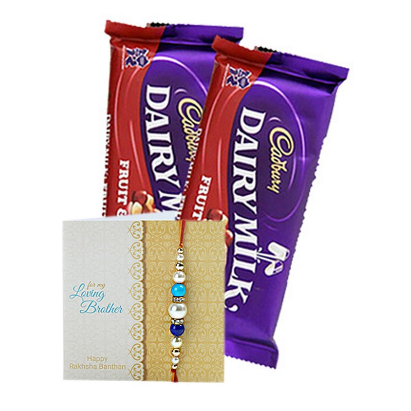 Fruit & Nut Rakhi Combo