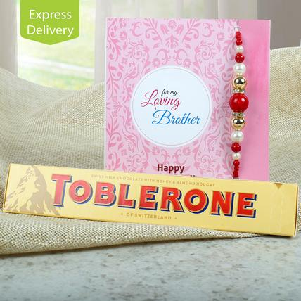Toblerone Rakhi Treat