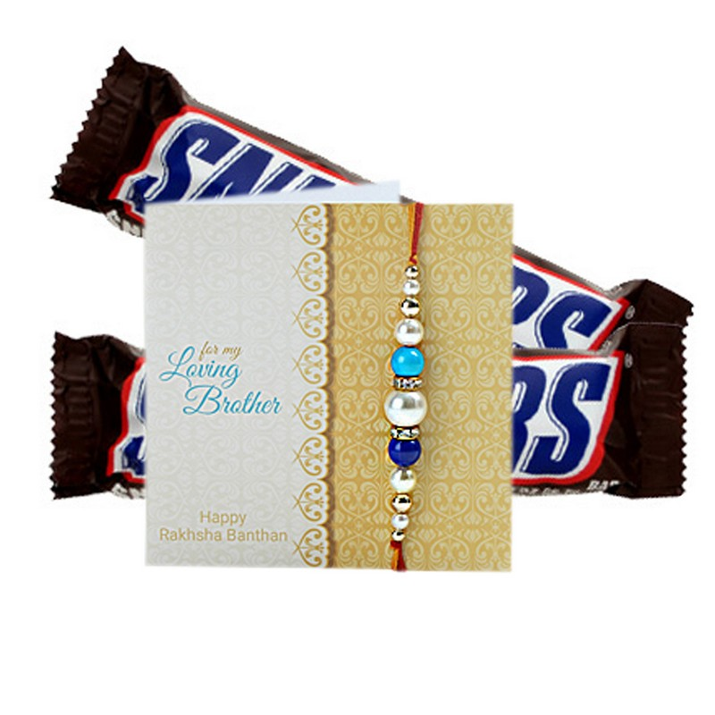 Snickers Choco And Rakhi