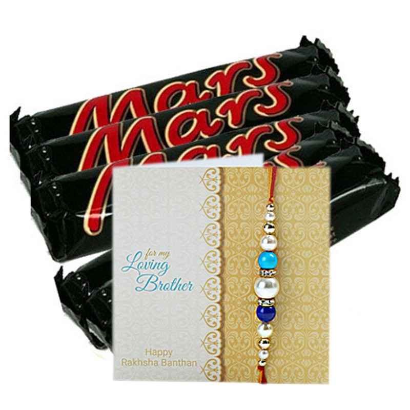 Mars Chocolates And Rakhi