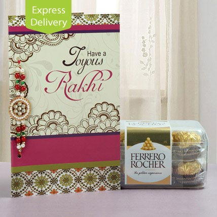 Appetizing combo of rochers-Rakhi