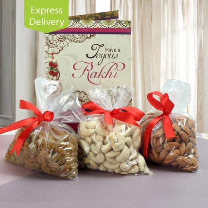 Nutty Wish-Rakhi