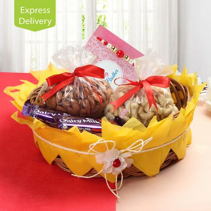 Heavy Rakhi Hamper