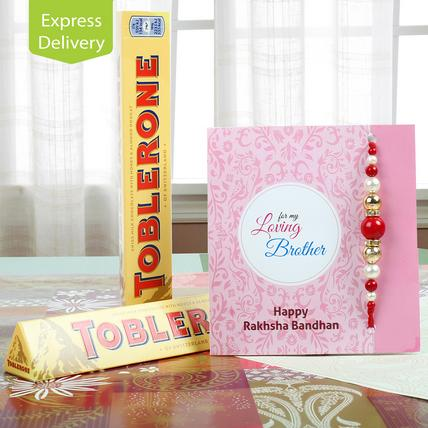 For The Toblerone Lover-Rakhi