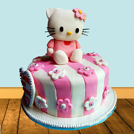 Hello Kitty Dark Truffle Cake 2kg