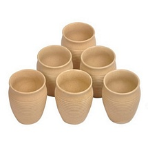 Traditional Kulhar Cups (Set of 6)