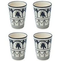Set of 4 Stoneware Classic Tumblers