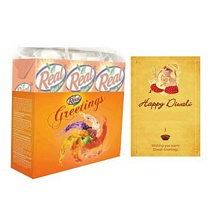 Juice Hamper with Diwali Card
