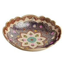 Pure Brass Meenakari Bowl for Dhanteras and Diwali Gift