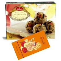 Haldiram's Dry Fruit Laddu with 1 Diwali Card