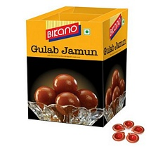 Bikano Gulab Jamun with 5 Earthen Diyas for Diwali