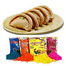 Gujiya n Color Hamper