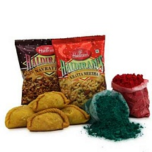 Namkeen and Gujiya Holi Combo