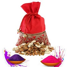 Healthful Dry Fruits Potli for Holi