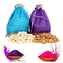 Goodness of Cashews n Almonds for Holi