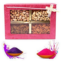 Mixed Dryfruits Gift Box for Holi