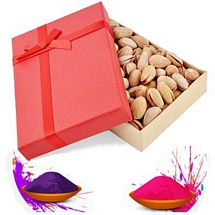 Healthful Pistachio Gift Box for Holi