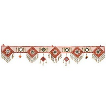 Shankh and Beads Rajasthani Door Hanging for Diwali Decoration