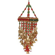Fancy Jhumar with Bell and Beads for Diwali Decoration & Gift
