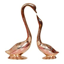 Hanso Ka Joda - Gold Plated Swan Pair