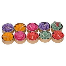 T Lights Floating Diyas for Diwali (Set of 10)