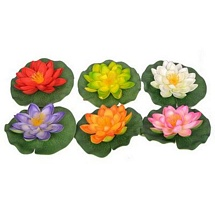 Artificial Floating Flowers (Set of 6)
