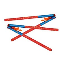 Beautiful Dandiya Sticks (4 Sticks)