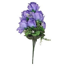 Purple Artificial Rose Bunch for Diwali Gifts and Decoration