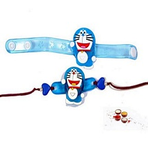Set of 2 Fancy Doraemon Kids Rakhis