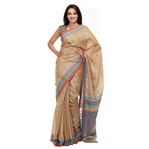 Beize Silk Saree