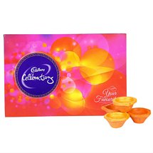Cadbury Celebrations & Ethnic Diya - Diwali Gifts