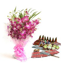 Orchids n Crackers - Diwali Gifts