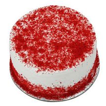 Red Velvet Fresh Cream Cake