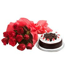 Black Forest and Flowers