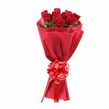 Fathers Day Spl - 15 Red Roses Bouquet