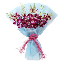 Fathers Day - Purple Orchids