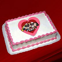 Powerpuff Girls Photo Cake 1kg