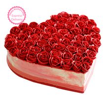Mothers Day Spl - Rose Cake Half kg Eggless