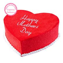 Mothers Day Spl - Red Velvet Mom Cake