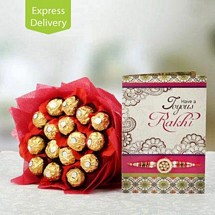 Ferrero Bouquet For Bro-Rakhi
