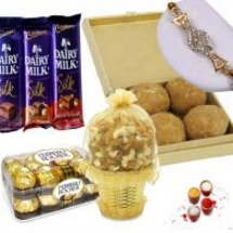 Chocolate Combos for Sisters Return Gift
