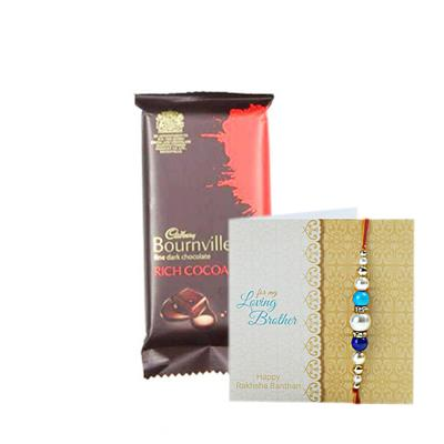 Rakhi with Chocolates Same Day Delivery