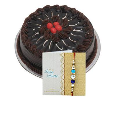 Rakhi with Cake Same Day Delivery