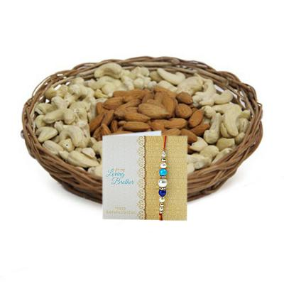 Rakhi With Dryfruits Express Delivery