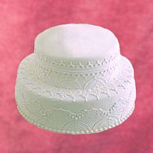 Two Tier Cake 3.5Kg